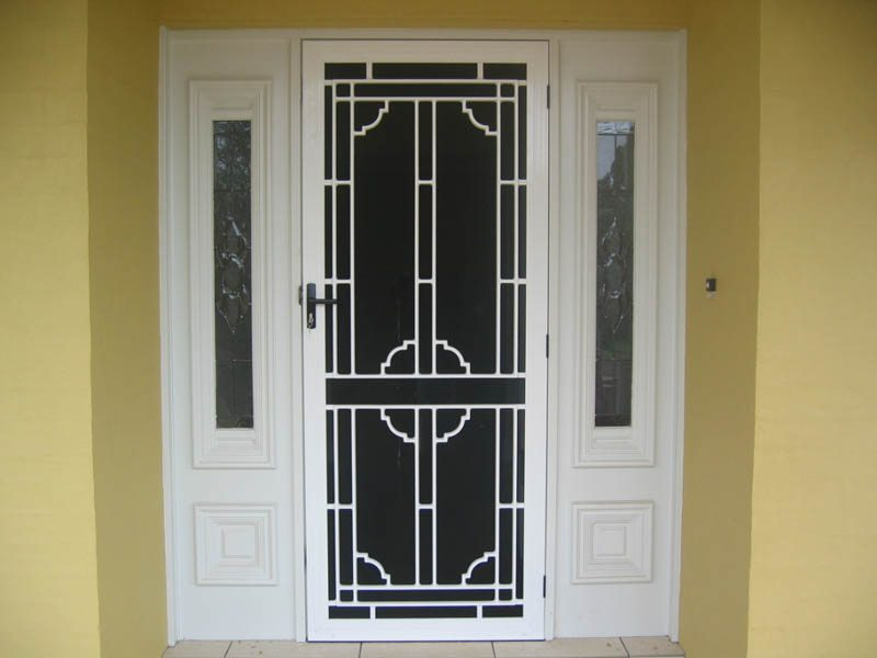 Security screen and door repairs in Lonsdale